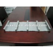 Closed typed galvanized steel floor decking panel