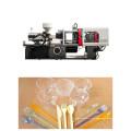 Máquina de moldeo por inyección de tenedor y cuchillo de plástico de 150 toneladas