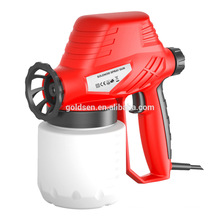 Portable 130W Professional Solenoid Paint Spray Gun Mini Electric Hand Spray Machine Sprayer GW8183