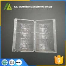 caja de pastel de pvc transparente personalizado
