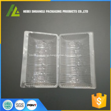 custom transparent pvc cake box