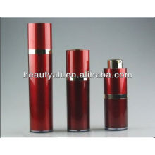 Red Cosmetic Airless Bottle