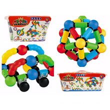 Hot Sale Creative Magnetic Sticks and Balls Toys