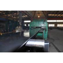 Correa transportadora de caucho de acero reforzada horizontalmente