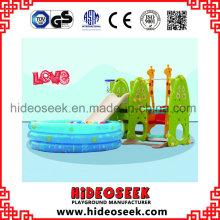 Balanço de Slide Indoor Play com Pit Bola para Criança