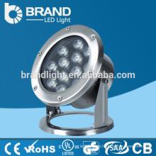 Hohe Helligkeit 12W LED Unterwasserlicht drahtlos, Unterwasserlicht mit drahtloser Steuerung