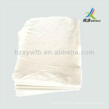 Serviette de corps non-tissé, serviette de salon spunlace en relief