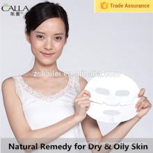 Correctif naturel de feuille de masque de boue meilleur pour le masque facial de peau sèche et grasse