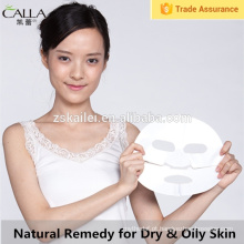 Remendo natural da folha da máscara da lama melhor para a máscara facial da pele seca & oleosa