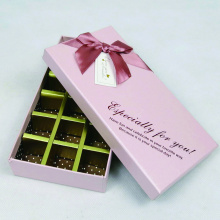 Fancy Heart Shaped Chocolate Box Packning