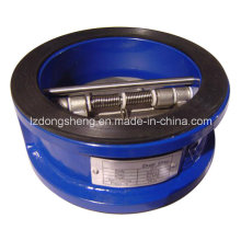 API 594 Double Disc Wafer Type Check Valve Class125/150