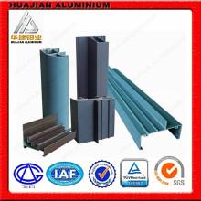 Perfiles de extrusión de aluminio para recubrimiento en polvo