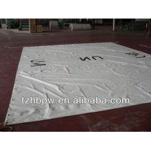 Encerado de PVC branco