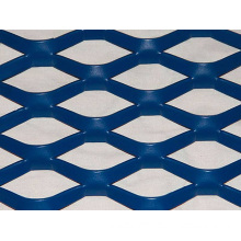 Aluminum Expanded Metal Facade Mesh with Various Colors and Hole Shapes