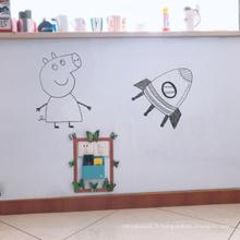 Planche d'écriture pour enfant effaçable à fixation murale