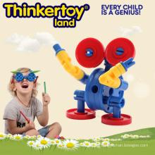 Mini Tier Promotion Geschenk Kunststoff pädagogischen Roboter Spielzeug