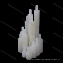 Nylon plastic support column M3 M4 isolation plastic wheel spacer