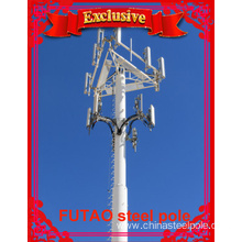 OEM manufacturer custom for Communication Tower Telecommunications monopole Tower For Antenna export to Brazil Factory