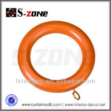 Wood Curtain Rod Ring Painted Curtain Rings