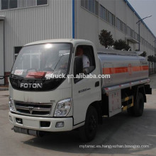 china 2017 nueva capacidad del camión cisterna de combustible barato