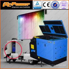 Generador diesel de 16kVA para Mobile LED para camiones de anuncios al aire libre