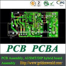 conjunto da microplaqueta do conjunto do PWB do PC da tabuleta para produtos eletrônicos com elevada precisão SMT