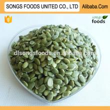 Grãos de sementes de abóbora AA comestíveis