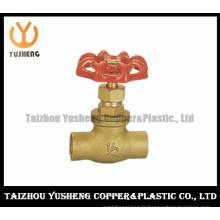 Vanne d'arrêt en cuivre en laiton (YS6003)