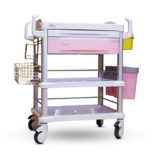 Color-optional Hospital ABS Treatment Trolley Cart