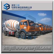 10 м3 8х4 Северный Бенц бетоносмеситель грузовик барабан