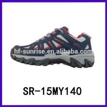 Moda hot-selling caminhadas esporte sapatos homens fantasia sapatos China esporte homens sapatos