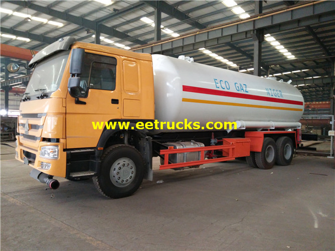 15MT LPG Road Tank Vehicles