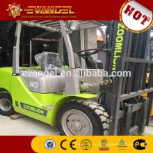 Preço diesel FD30 do caminhão de empilhadeira de 5 toneladas de Zoomlion for sale
