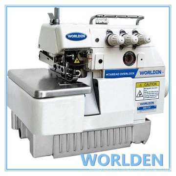 Máquina de coser del Overlock de tres hilos WD-737