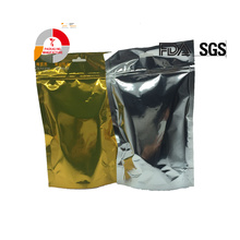 standard flexible heat sealing stand up resealable zipper packing bag