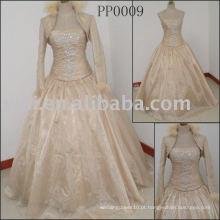 Vestido de noiva personalizado real PP0009