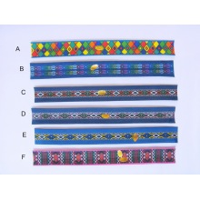 Polyester Indian Iconic Slap Bracelets