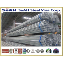 "2-1/2"" fence tube /galvanized pipe to BS 1387, ASTM A53, JIS G 3452, KS"