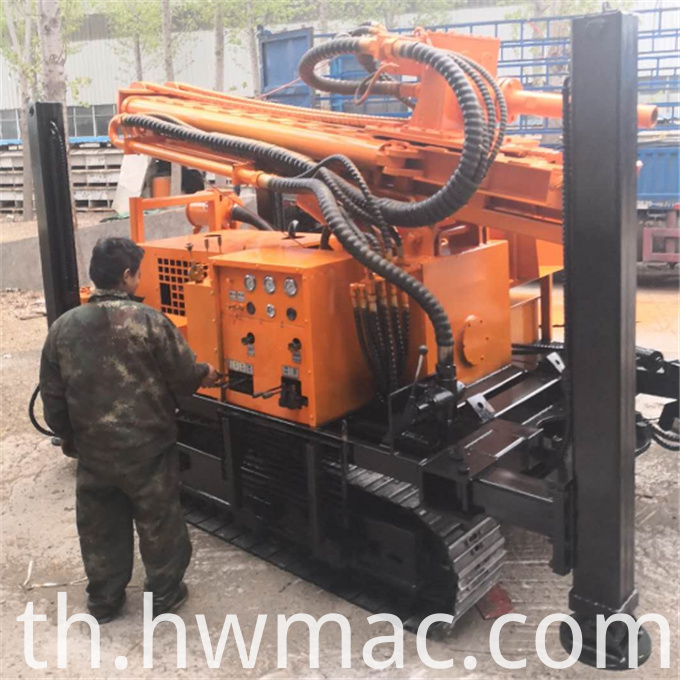 Pneumatic drill machine