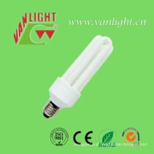 3U T4-25W E27 CFL, lâmpada de poupança de energia