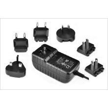 19V0.5A Adaptador de pared con enchufe desmontable