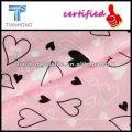 100% Cotton Printed Dobby Fabric/Heart-shaped Dobby Fabric/Cotton Dobby Fabric For Lovely Girl