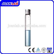 JOAN Laboratorio GlassTest tubo con tapones de tornillo para uso en laboratorio