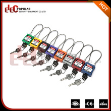 Flexible Steel Cable Safety Padlock with Cable Length 175mm
