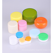 Trial Pack 5g 3g 10g pequeno frasco de cosméticos pequenos frascos de vidro cosméticos recipientes de plástico reciclado plástico