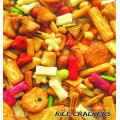 Chrismas party rice cracker snack
