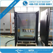 Sistema de suministro de energía ininterrumpible Industria UPS de 160kva para uso en banco / hotel / hospital / Base de datos