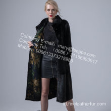 Coat In Mink Fur For Women