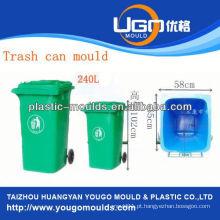 Molde de latas de lixo feito sob encomenda e mofo de lixo de plástico de 2013 em taizhou, Zhejiang