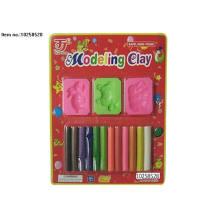 DIY-Farben-Kasten-pädagogische 12 Farben, die Lehm-Spielwaren modellieren